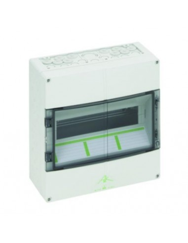 IP65 MCB Enclosure, 14 Way, DIN Rail