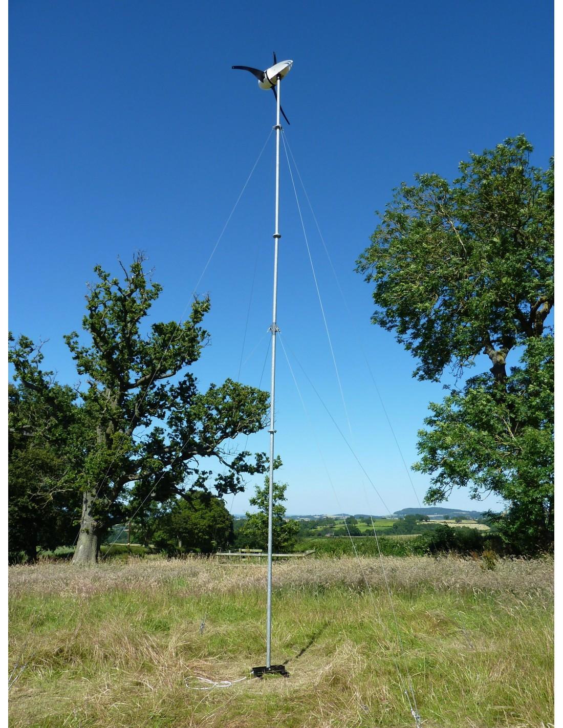 Wind Turbine Tower Le300 Le450 Le600 9m Off Grid