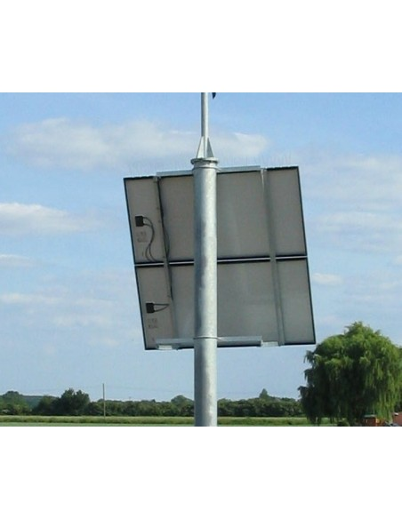 Solar PV Panel Post Mount Bracket