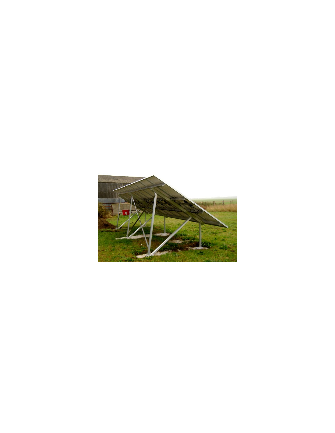 Large Solar Pv Array Mounting Framework