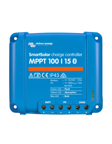 Victron SmartSolar 100/15 MPPT Charge Controller