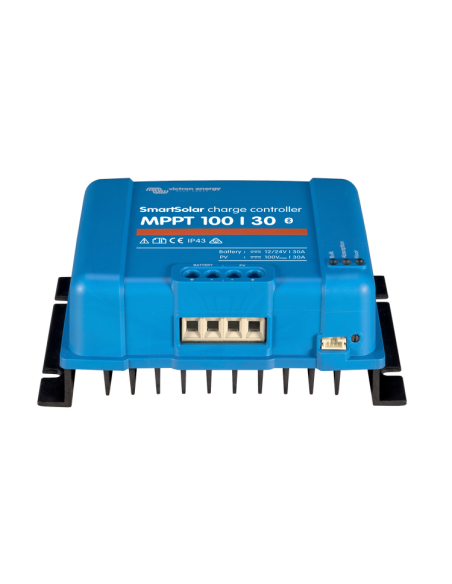 Victron SmartSolar 100/30 MPPT Charge Controller from below