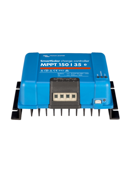 Victron SmartSolar 150/35 MPPT Charge Controller from below