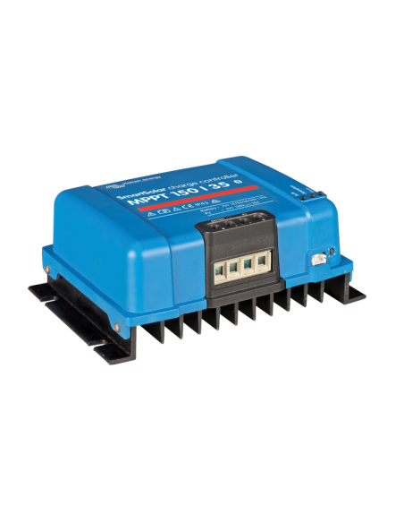 Victron SmartSolar 150/35 MPPT Charge Controller from angle