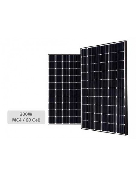 Jinko Maxim Solar PV Module 300 Wp spaced group