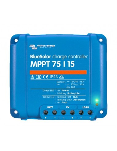 Victron BlueSolar 75/15 MPPT Charge Controller