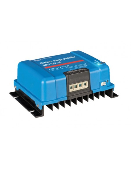 Victron BlueSolar 100/50 MPPT Charge Controller from angle