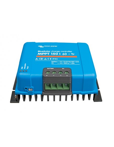 Victron Bluesolar 150/60 MPPT Charge Controller from below