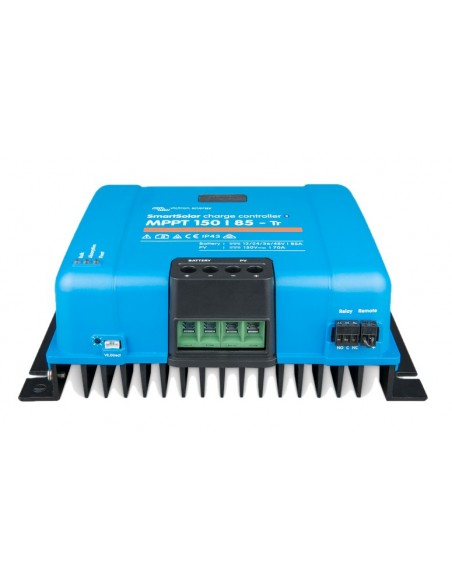 Victron SmartSolar 150/85-TR MPPT Charge Controller from below