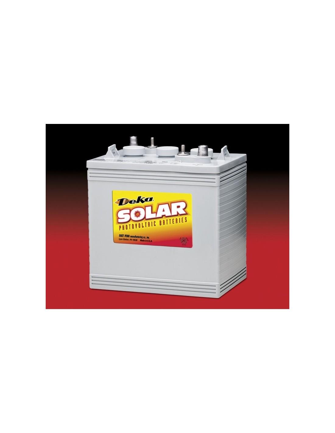 mk deka solar gel battery 6v 198ah 8ggc2 deka. Black Bedroom Furniture Sets. Home Design Ideas