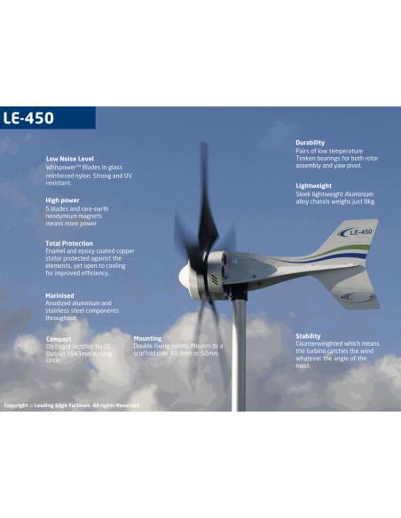 Leading Edge LE450 Features