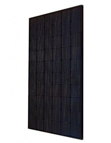 LG Neon2 Solar PV Panel 320 Wp from the side