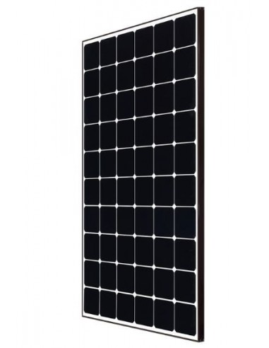 LG Neon2 Solar PV Panel 340 Wp from side