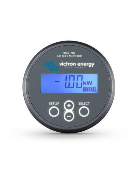 Victron BMV-702 - Showing 1kW Load