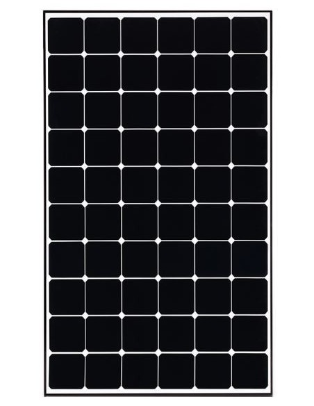 LG Neon2 Solar PV Panel 365 Wp from front
