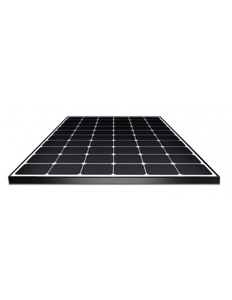 LG Neon2 Solar PV Panel 365 Wp from below