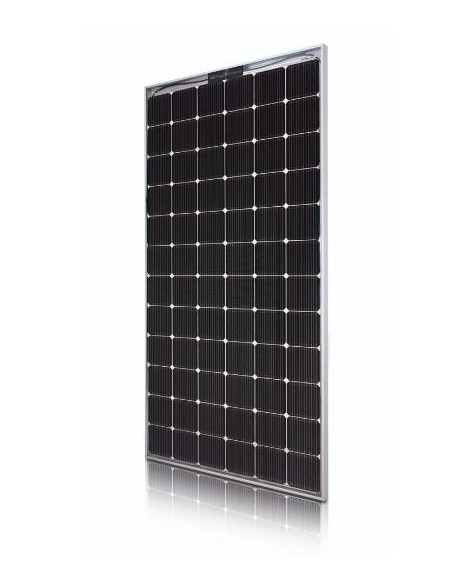 LG Bifacial Solar PV Panel 390-507 Wp from side