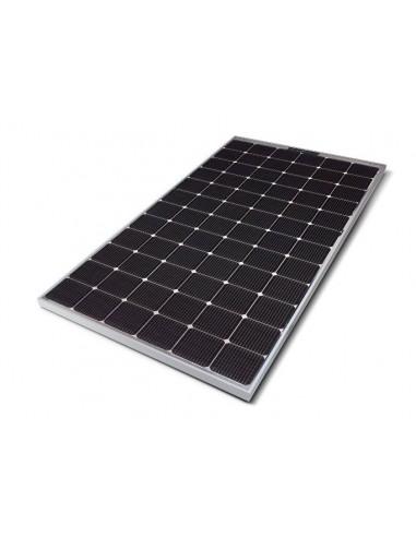 LG Bifacial Solar PV Panel 390-507 Wp from below at an angle