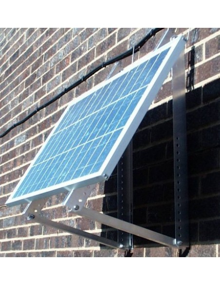 Solar PV Mount, Wall or Ground, Stainless Steel