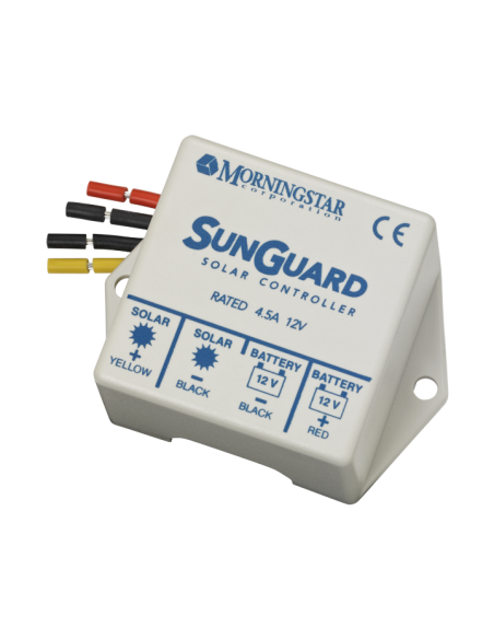 Morningstar SunGuard 4.5A PWM Solar Controller