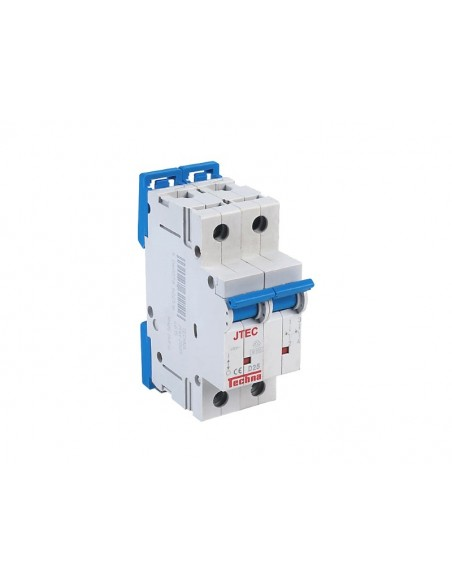 JTEC Double Pole MCB Circuit Breaker