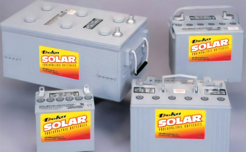 deep cycle gel batteries for solar pv